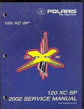 2002 POLARIS 120  XC SP SNOWMOBILE SERVICE MANUAL