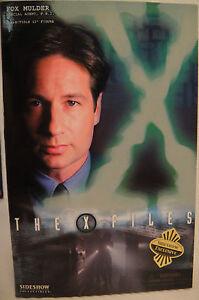 "Sideshow X-Files Heim Fox Mulder Exklusive Edition 12 "" Sixth Maßstab Figur MIB"