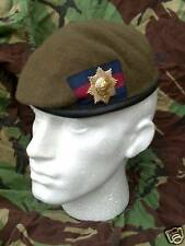 Coldstream Guards Beret & Brass Cap Badge 58