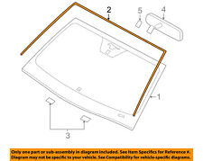 FORD OEM 05-14 Mustang Windshield-Weatherstrip Seal AR3Z7603110A