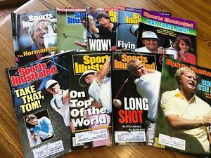 Vintage PGA Golf Sports Illustrated Magazine Lot Nicklaus Norman Daly
