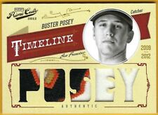 Buster Posey - 2012 Prime Cuts Timeline Materials Prime Custom Names #7  1/1