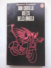 GIOVANNI GUARESCHI.DON CAMILLO MEETS HELL'S ANGELS.PENGUIN 76,PO VALLEY.PEPPONE