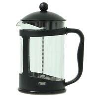Apollo Black Coffee Plunger 12 Cup 1500ml Glass Caffettiera French Filter Press