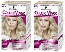 2x Schwarzkopf Color Mask Permanent Colour 910 Pearl Blonde