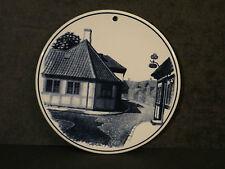 Hans Christian Andersen souvenir plaque trivet royal copenhagen denmark
