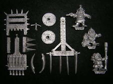 Warhammer Marauder MM12 Dwarf Organ Gun / Cannon with Crew, Metal, Complete 1988