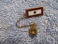 "Original WWII USN Navy Son in Service Pin by ""CORO""  STERLING"