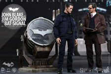 1/6 Dc Batman John Blake & Jim Gordon Bat-Signal MMS Hot Toys