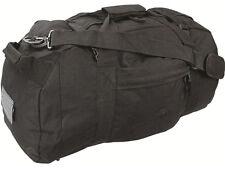 BASE CAMP DUFFLE BAG 65 L Waterproof rucksack loader pack 4 ways to carry BLACK