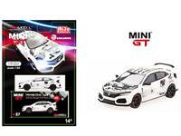 TSM 1:64 MINI GT Honda Civic TypeR FK8 ArtCar Manga 2018 Paris Autoshow MGT00037