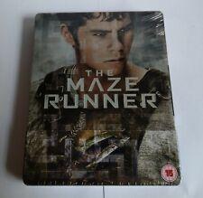 The Maze Runner Ltd Edition Debossed Blu Ray Steelbook UK Release FASTPOST