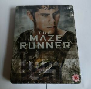The Maze Runner - Blu ray steelbook - New and sealed