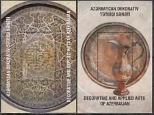 Azerbaijan Aserbaidschan MNH** 2017 Mi.1272-73 Bl.184-85 Decorative Arts