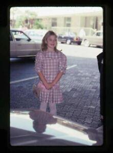 Drew Barrymore ET child star vintage candid shot Original 35mm Transparency