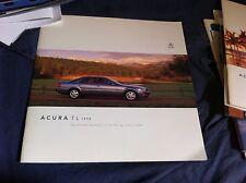 1998 Acura RL Sedan USA Market Color Brochure Catalog Prospekt