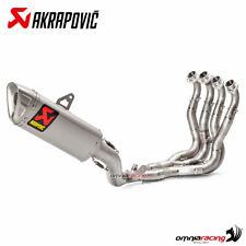Akrapovic full exhaust system Racing Line steel/titanium Suzuki GSXR1000/R 2017>