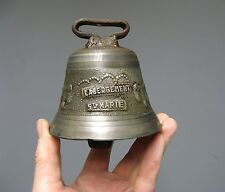 Ancienne cloche Labergement Sainte Marie.