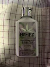 HEMPZ sweet Peppermint & Sugar Plum CREME MOISTURIZER LOTION 2.25