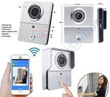 VIDEOCITOFONO WIRELESS CHIAMATA SMARTPHONE IPHONE SENSORE MOVIMENTO SCATTA FOTO