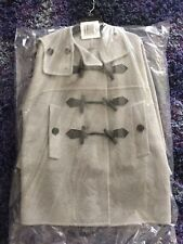 Burberry Anbridge Wool Cashmere Duffle Coat, Light Grey, Small, 100% Authentic!