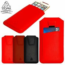 Genuine Gorilla Tech Pouch Hand Made Full Grain Leather Pouch for Mobile Phone