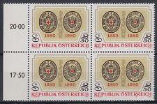 Österreich Austria 1980 ** Mi.1634 Rotes Kreuz Red Cross Siegel Seal [sr1426]