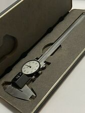 Mitutoyo Dial Caliper With Case 537 110 Made In Japan Broken Inner Jaw See Pics