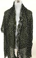 LACE NET SCARVE PASHMINA GIFT FLOWER PAISLEY NEW WOOVEN NEW ARRIVAL