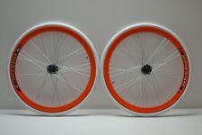 Ruote o cerchi 28 fixed 1v flip flop arancio Gipiemme personalizzabile complete