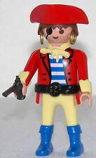 BOOTSMANN PIRAT Playmobil zu Pistole Dreispitz Ohrringe Matrose Insel Schiff 764