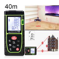 40m Handheld Digital Laser Distance Meter Finder Measure Tape Range Finder