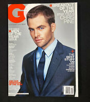 GQ Magazine December 2009 Chris Pine Barack Obama Tom Brady