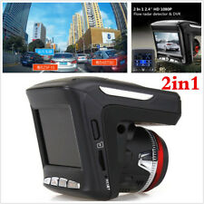 2.4'' 1080P Car Video Camera Recorder Dash Cam Radar Speed Detector DVR Full HD