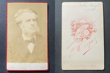 Lopez, Charles Floquet, avocat vintage cdv albumen print, Thomas Charles Floquet