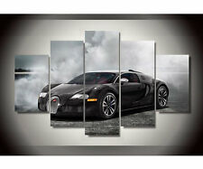 Luxury Car Style Picture Framed Canvas Wall Hanging Library Airport Showroom