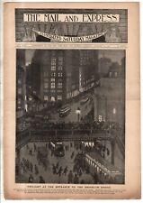 1901 Mail & Express January 12 -Brooklyn Bridge;Vanderbilt Wedding;Milka Ternina