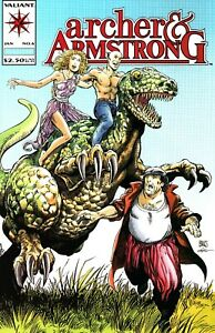 ARCHER & ARMSTRONG   #6   (VALIANT 1992 SERIES)   VF-NM