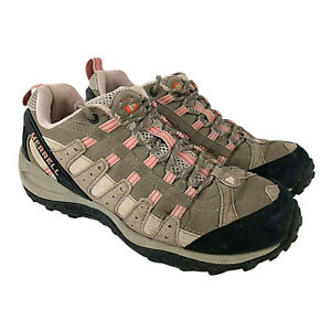 Merrell Womens US Size 8 Deseret Brindle Low Top Hiking Boots Taupe Style J18010