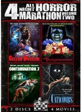 All Night Horror Marathon: 4 Movies, Vol. 2 (2013, REGION 1 DVD New)