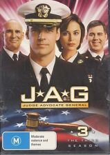 JAG Judge Advocate General The Third Season DVD NEW Region 4 PAL