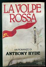 HYDE ANTHONY LA VOLPE ROSSA MONDADORI  1986 OMNIBUS PRIMA EDIZIONE