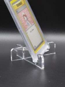 Acryl Ständer für Grading Cards z.B. PSA, BGS, Toploader, Trading Cards Pokemon