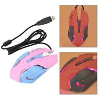 Mini Mouse Mechanical Wired Gaming Mouse Comfortable USB 3200 DPI for Windows 10