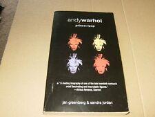 Andywarhol Prince Of Pop by Jan Greenberg & Sandra Jordon PB Book,Good-Shape.