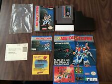 Metal Storm (Nintendo, NES) Complete with the Poster + Registration Card -Tested