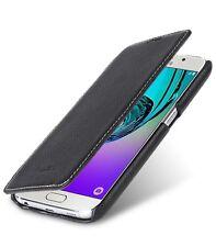 Melkco Premium Pelle Custodia per Samsung Galaxy S7 Libro di Faccia (Nera LC) H1726