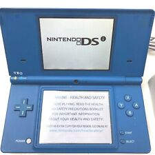 Nintendo DSi Handheld Console TWL-001 with Charger  Blue Tested Works