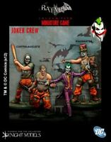 Joker Crew 35mm Batman Miniature Game Knight Models Skirmish Tabletop Dc