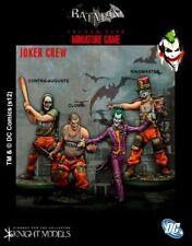 Joker Crew 35mm Batman Miniature Game Knight Models Skirmish Tabletop DC